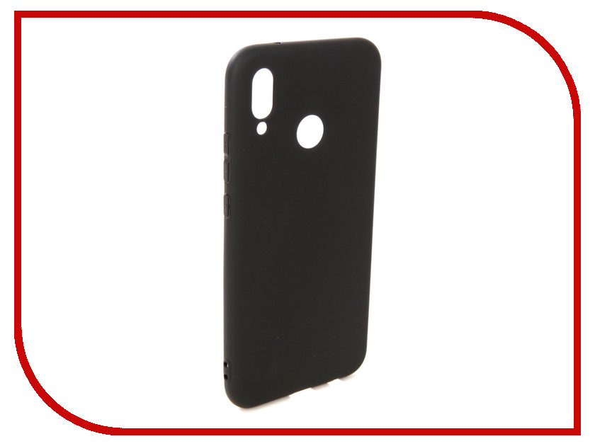 Аксессуар Чехол для Huawei P20 Lite Pero Soft Touch Black PRSTC-P20LB кейс для назначение huawei p20 p20 lite движущаяся жидкость кейс на заднюю панель мультипликация мягкий тпу для huawei p20 huawei p20 pro huawei p20 lite