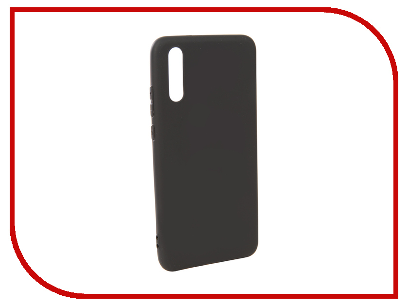 Аксессуар Чехол для Huawei P20 Pero Soft Touch Black PRSTC-P20B mooncase чехол для huawei ascend p8 wallet card slot with kickstand flip leather back white