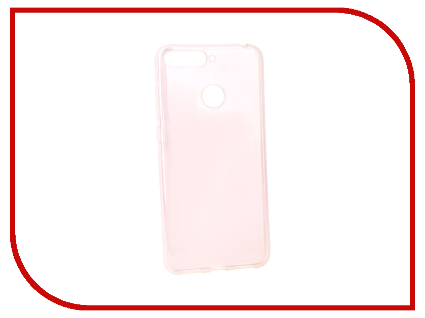 Аксессуар Чехол для Huawei Y6 Prime 2018 Pero Silicone Transparent PRSLC-Y6P18TR аксессуар чехол для huawei honor 7a pro pero silicone transparent prslc h7aptr