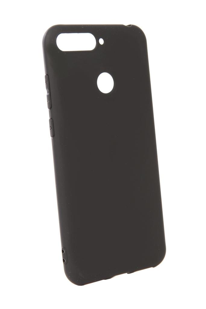 Аксессуар Чехол Pero для Huawei Y6 Prime 2018 Soft Touch Black PRSTC-Y618PB цена