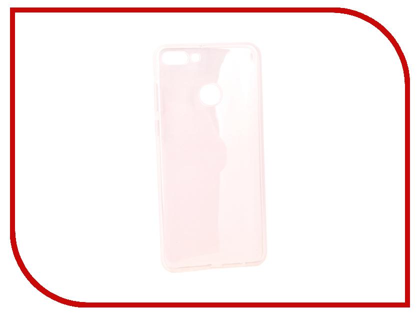 Аксессуар Чехол для Huawei Y9 2018 Pero Silicone Transparent PRSLC-Y918TR shs красный huawei y9 2018