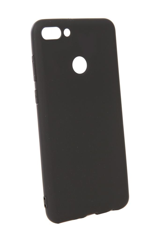цена Аксессуар Чехол Pero для Huawei Y9 2018 Soft Touch Black PRSTC-Y918B онлайн в 2017 году