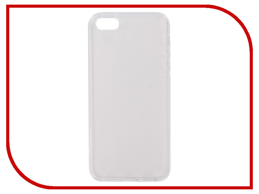 Аксессуар Чехол Pero Silicone для APPLE iPhone 5/5S/SE Transparent PRSLC-I5TR