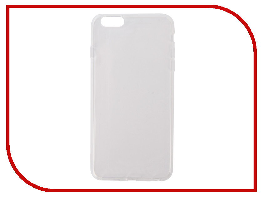 Аксессуар Чехол Pero Silicone для APPLE iPhone 6/6S Plus Transparent PRSLC-I6PTR
