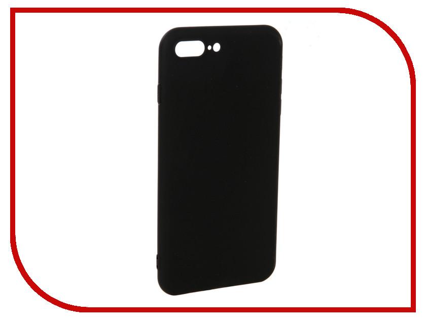 Аксессуар Чехол Pero Soft Touch для APPLE iPhone 7 Plus Black PRSTC-I7PB телефон apple iphone 7 128gb a1778 black