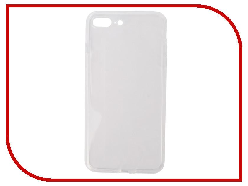 Аксессуар Чехол Pero Silicone для APPLE iPhone 7/8 Plus Transparent PRSLC-I7PTR аксессуар чехол ipapai ассорти сладости для apple iphone 7 120120 7