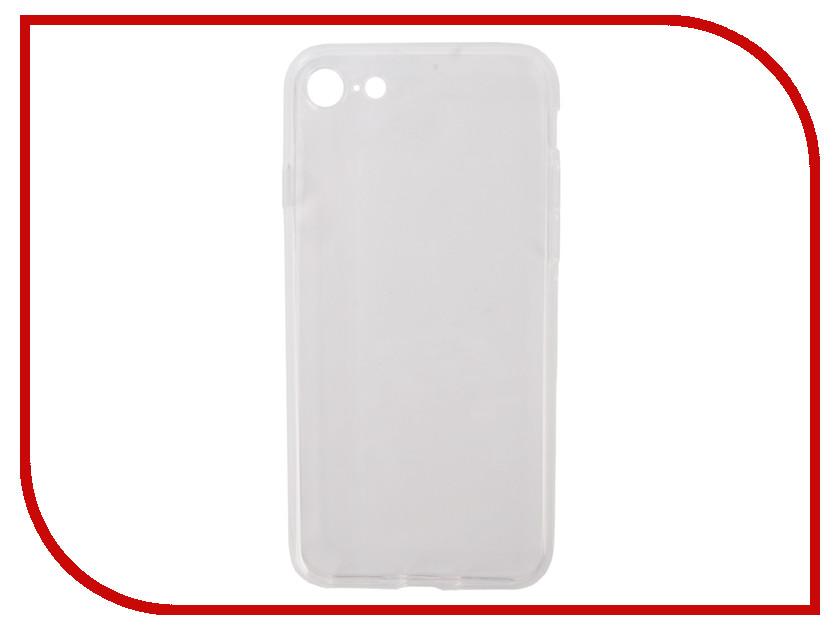 Аксессуар Чехол Pero Silicone для APPLE iPhone 7/8 Transparent PRSLC-I7TR аксессуар чехол ipapai ассорти фрукты silicone для apple iphone 7 120506 7