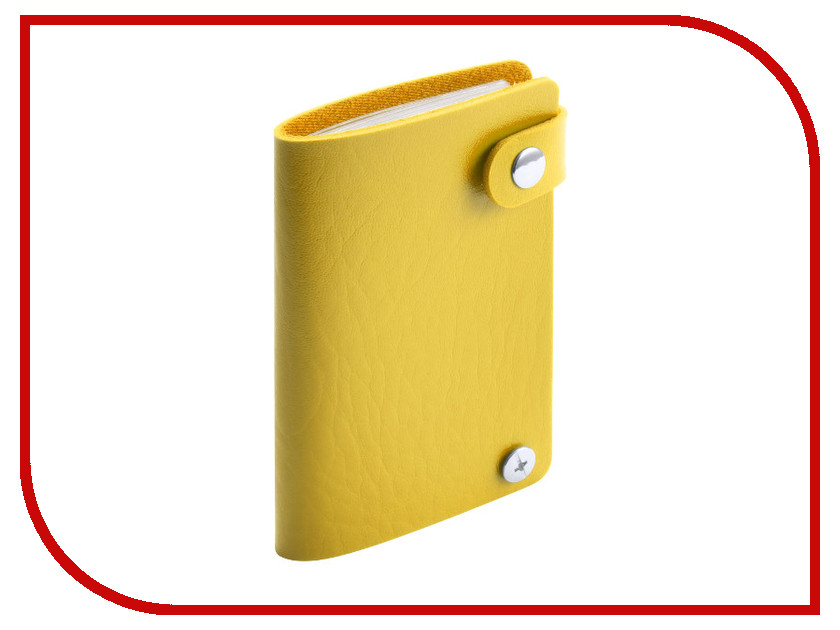 Футляр для пластиковых карт Makito Young Yellow MKT4572yell