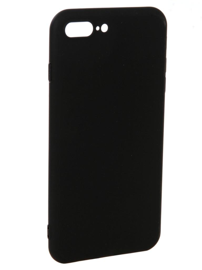 Аксессуар Чехол Pero для APPLE iPhone 8 Plus Soft Touch Black PRSTC-I8PB аксессуар чехол для apple iphone xs max pero soft touch blue prstc ixsmbl
