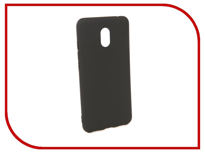 Аксессуар Чехол для Meizu M6 Pero Soft Touch Black PRSTC-MM6B аксессуар чехол для xiaomi redmi 5 pero soft touch black prstc r5b