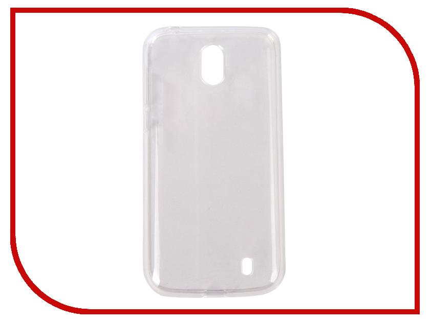 Аксессуар Чехол для Nokia 1 Pero Silicone Transparent PRSLC-N1TR аксессуар чехол для samsung galaxy a6 pero silicone transparent prslc a6tr