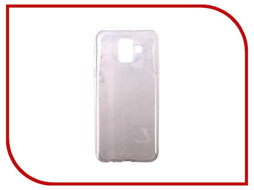 Аксессуар Чехол для Samsung Galaxy A6 Pero Silicone Transparent PRSLC-A6TR skinbox slim silicone чехол для samsung galaxy a6 2018 transparent