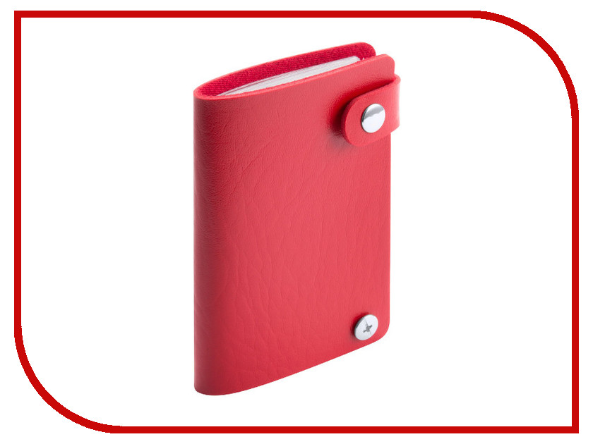 Футляр для пластиковых карт Makito Young Red MKT4572red