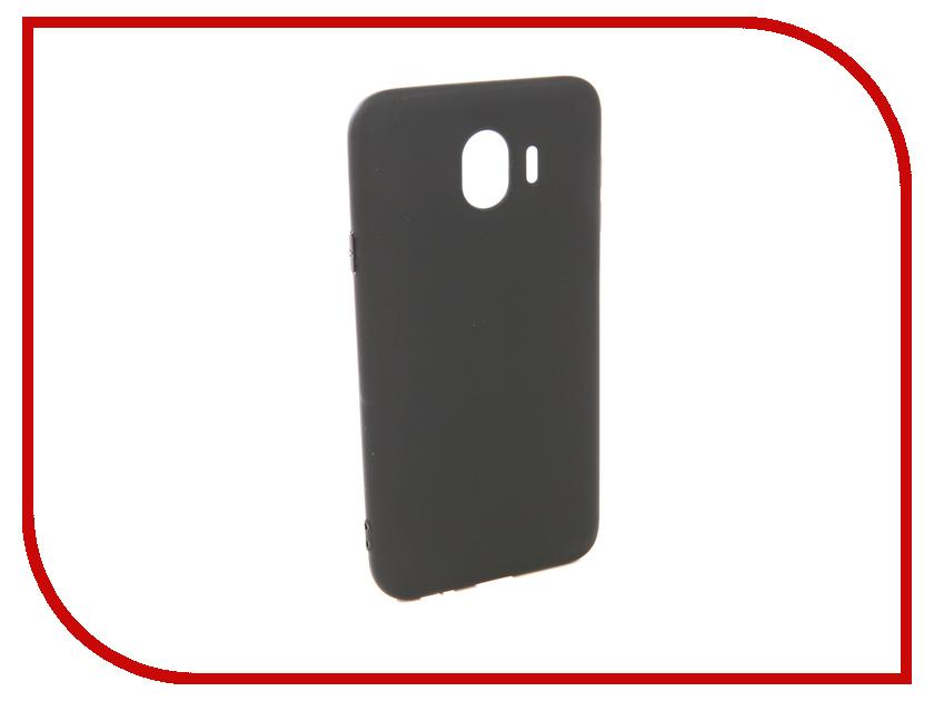 Аксессуар Чехол для Samsung Galaxy J4 2018 Pero Soft Touch Black PRSTC-J418B mooncase soft silicone gel side flip pouch hard shell back чехолдля samsung galaxy s6 black