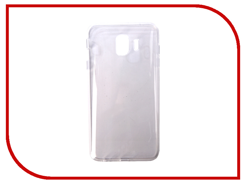 Аксессуар Чехол для Samsung Galaxy J4 2018 Pero Silicone Transparent PRSLC-J418TR protective clear screen protector film guard for samsung galaxy mega 6 3 i9200 transparent