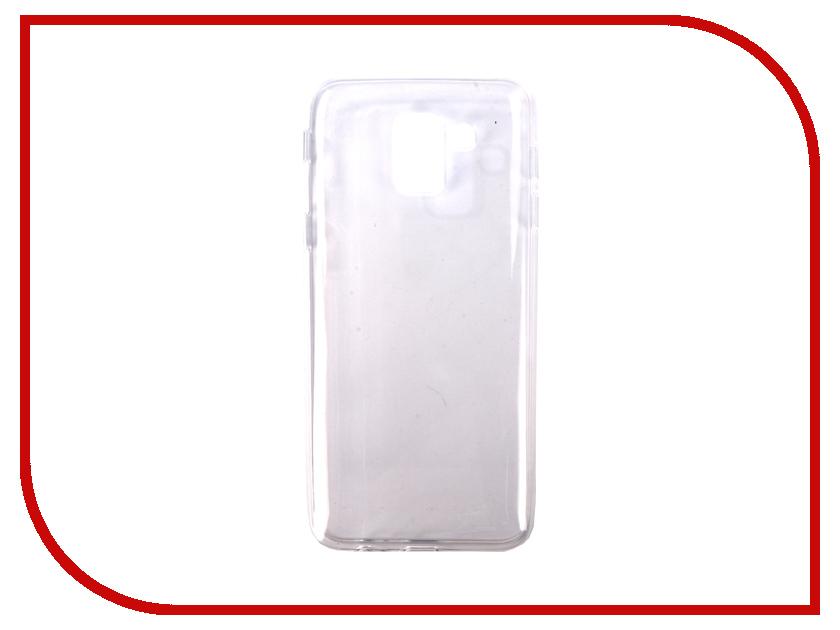 Аксессуар Чехол для Samsung Galaxy J6 2018 Pero Silicone Transparent PRSLC-J618TR аксессуар чехол для samsung galaxy a6 pero silicone transparent prslc a6tr