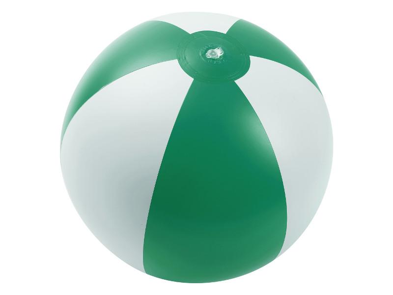 Надувная игрушка Makito Jumper мяч пляжный Green-White MKT8094gree