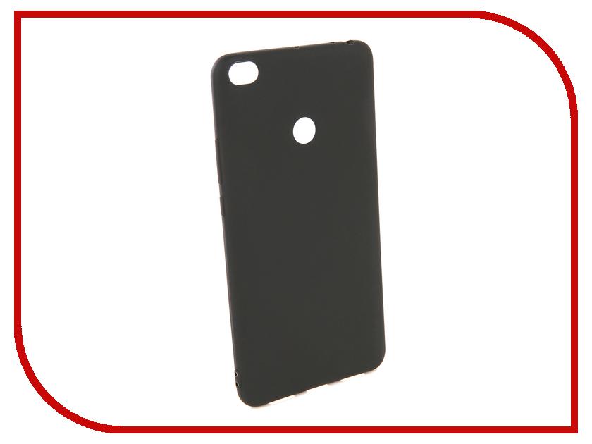 Аксессуар Чехол для Xiaomi Mi Max 2 Pero Soft Touch Black PRSTC-MMAX21B аксессуар защитное стекло для xiaomi mi max 2 pero 2 5d white