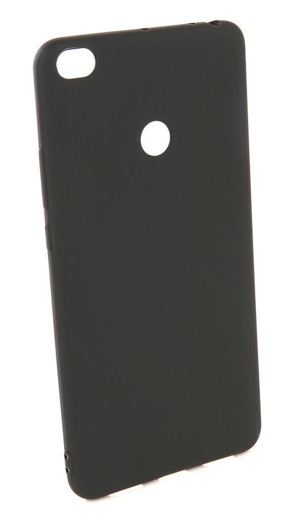 Аксессуар Чехол Pero для Xiaomi Mi Max 2 Soft Touch Black PRSTC-MMAX21B
