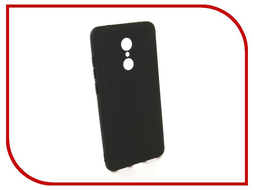 Аксессуар Чехол для Xiaomi Redmi 5 Pero Soft Touch Black PRSTC-R5B аксессуар чехол для xiaomi redmi note 5 pro pero soft touch black prstc rn5pb