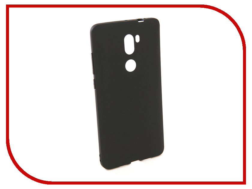 Аксессуар Чехол для Xiaomi Redmi  5S Plus Pero Soft Touch Black PRSTC-RMI5SPB