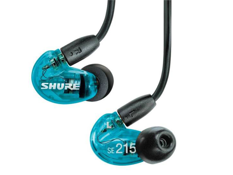 Shure SE215SPE-B-UNI-EFS