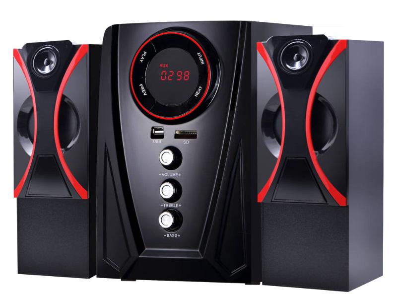 Колонка Ginzzu GM-407 Black-Red