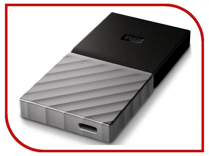 Жесткий диск Western Digital My Passport USB 3.1 512Gb Black-Silver WDBKVX5120PSL-WESN
