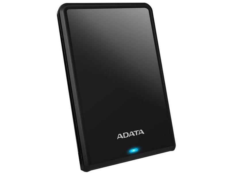 Жесткий диск A-Data HV620S Slim USB 3.0 1Tb Black AHV620S-1TU3-CBK цена