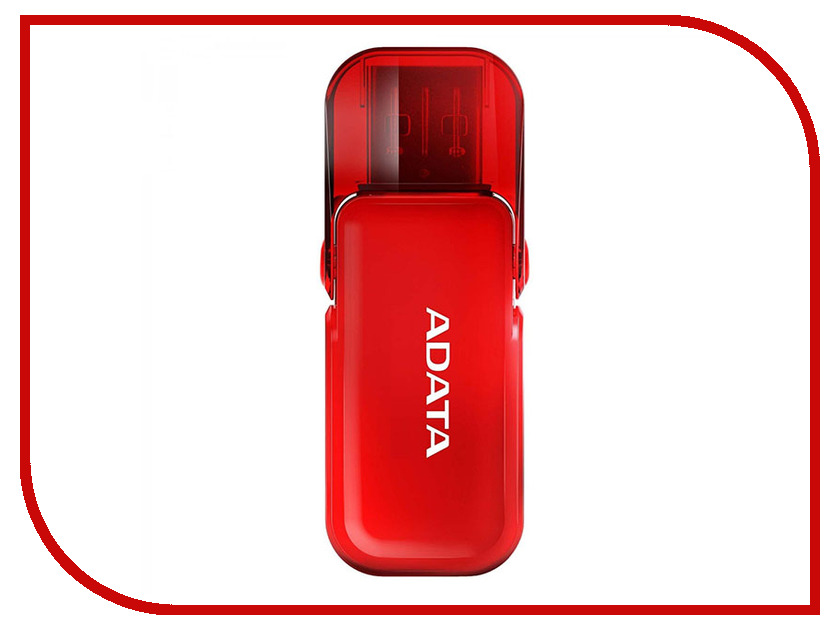 USB Flash Drive ADATA UV240 16GB Red цена и фото