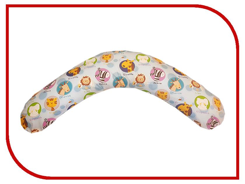 Подушка для беременных LeJoy Premium Зоопарк PR-133 подушка для беременных lejoy relax рыбки на голубом фоне rl 1010