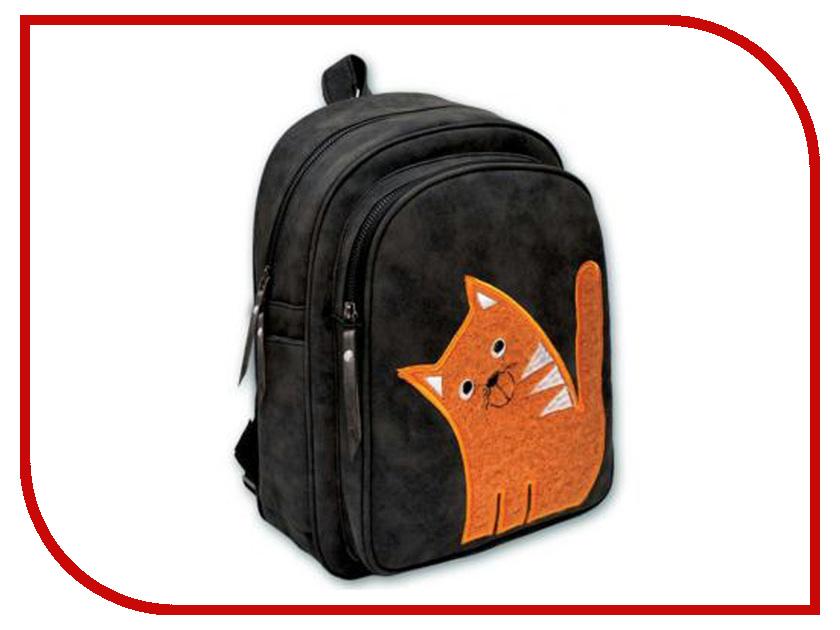 Рюкзак Феникс+ Пушистый кот Orange 46063 рюкзак феникс машинки 44306