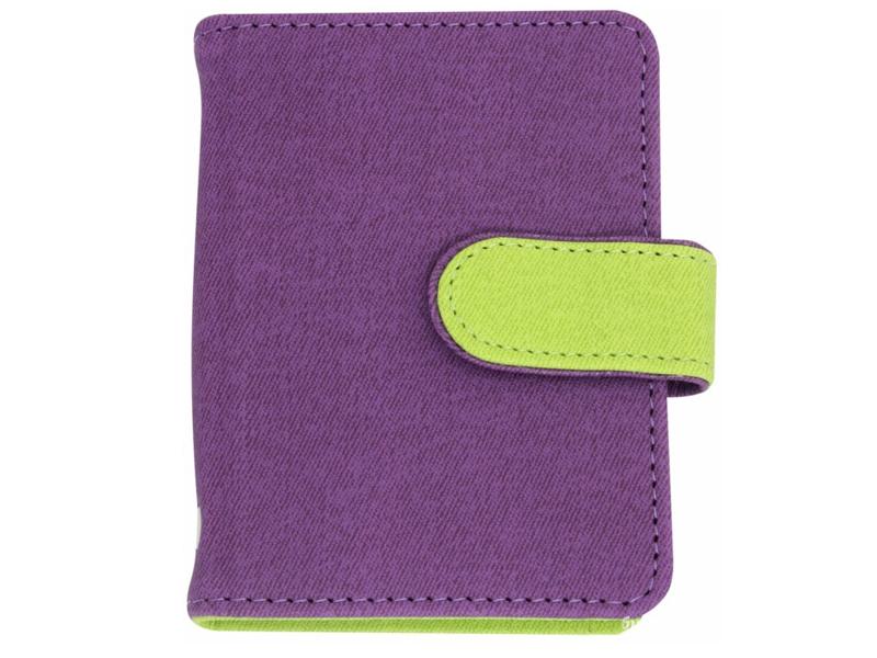Визитница Феникс+ 45955 Violet-Lime Green