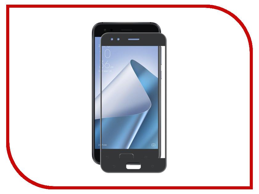 Аксессуар Защитное стекло для ASUS ZenFone 4 ZE554KL Neypo Full Glue Glass Black Frame NFG3793
