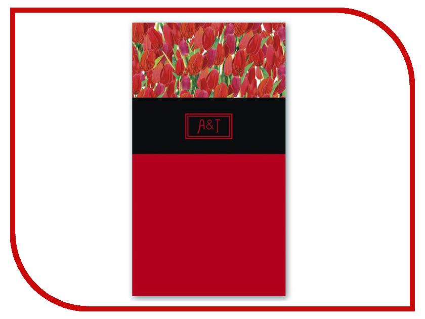 Телефонная книжка Феникс+ Тюльпаны 96 страниц Red 45970 телефонная розетка abb bjb basic 55 шато 1 разъем цвет черный