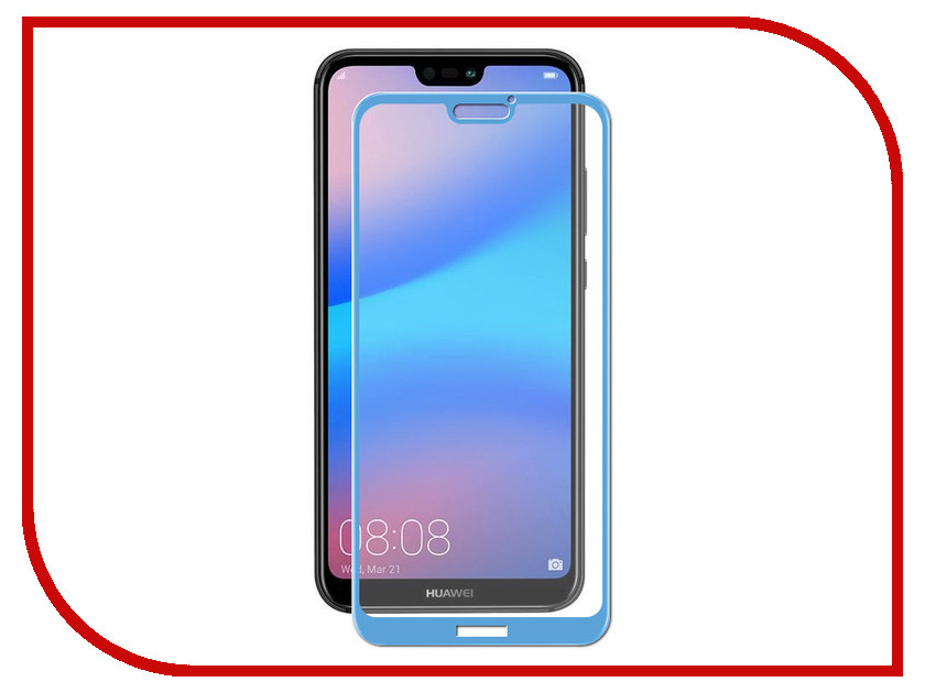 Аксессуар Защитное стекло для Huawei P20 Lite Neypo Full Screen Glass Blue Frame NFG4359 with frame 15 6 for asus q551l q502l laptop touch screen glass replacement digitizer fp tpay15611a 01x