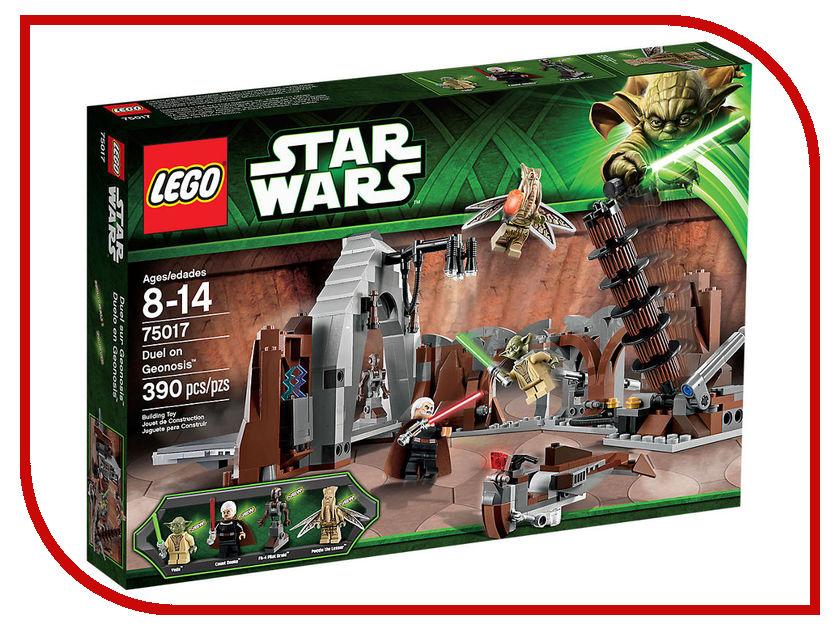 Конструктор Lego Star Wars Дуэль на планете Джеонозис 75017 конструктор lego star wars битва на планете такодана 75139