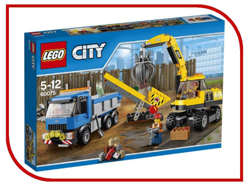 Конструктор Lego CityЭкскаваторигрузовик 60075 michael alexander microsoft business intelligence tools for excel analysts