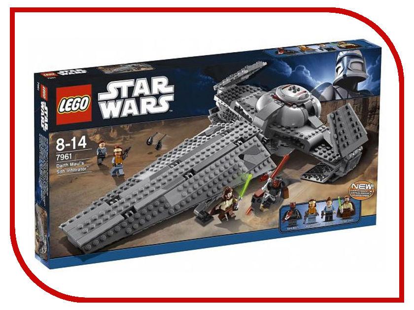 Конструктор Lego Star Wars Ситхский корабль-разведчик Дарта Мола 7961 lego конструктор сид дарта вейдера против a wing star wars 75150