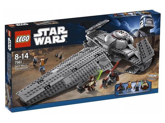 Конструктор Lego Star Wars Ситхский корабль-разведчик Дарта Мола 7961