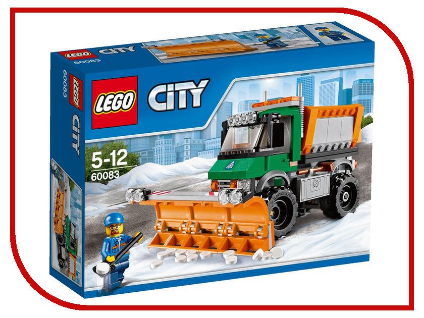 Конструктор Lego City Снегоуборочный грузовик 60083 lego lego city 60121 грузовик исследователей вулканов