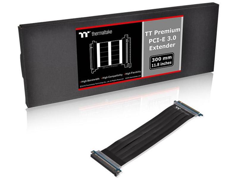 Аксессуар Thermaltake Tt Premium PCI Express Extender 300mm Black AC-045-CN1OTN-C1