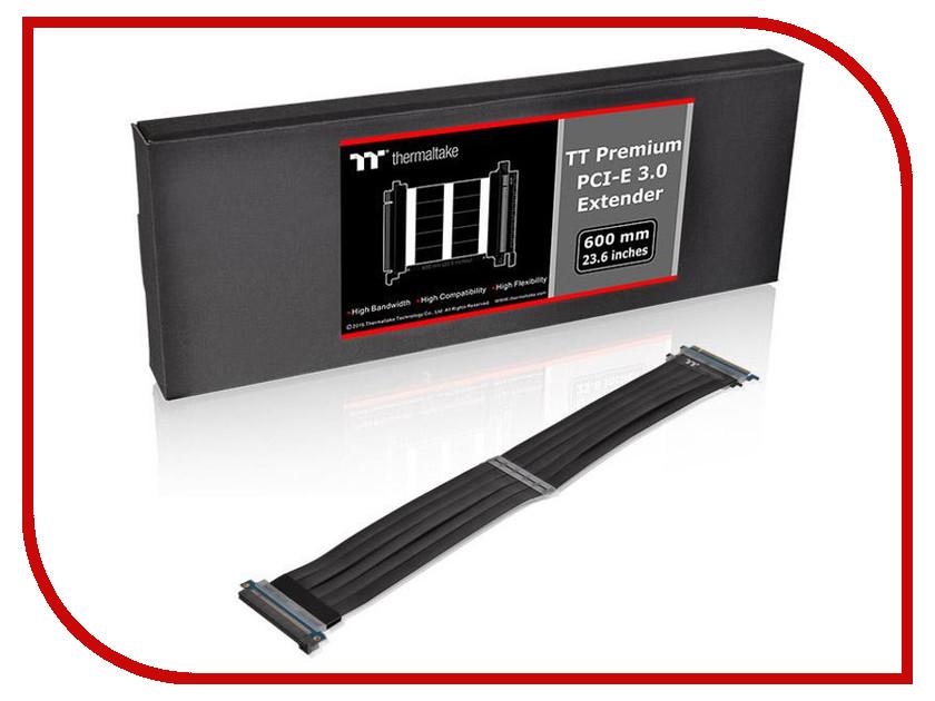 Аксессуар Thermaltake Tt Premium PCI Express Extender 600mm Black AC-050-CO1OTN-C1 аксессуар tt esports chao waist bag eac esc003wb