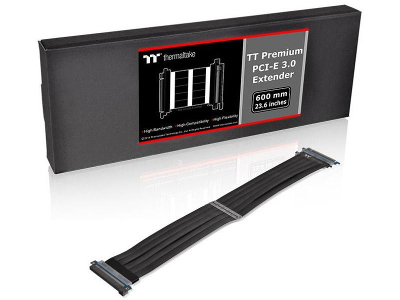 Аксессуар Thermaltake Tt Premium PCI Express Extender 600mm Black AC-050-CO1OTN-C1