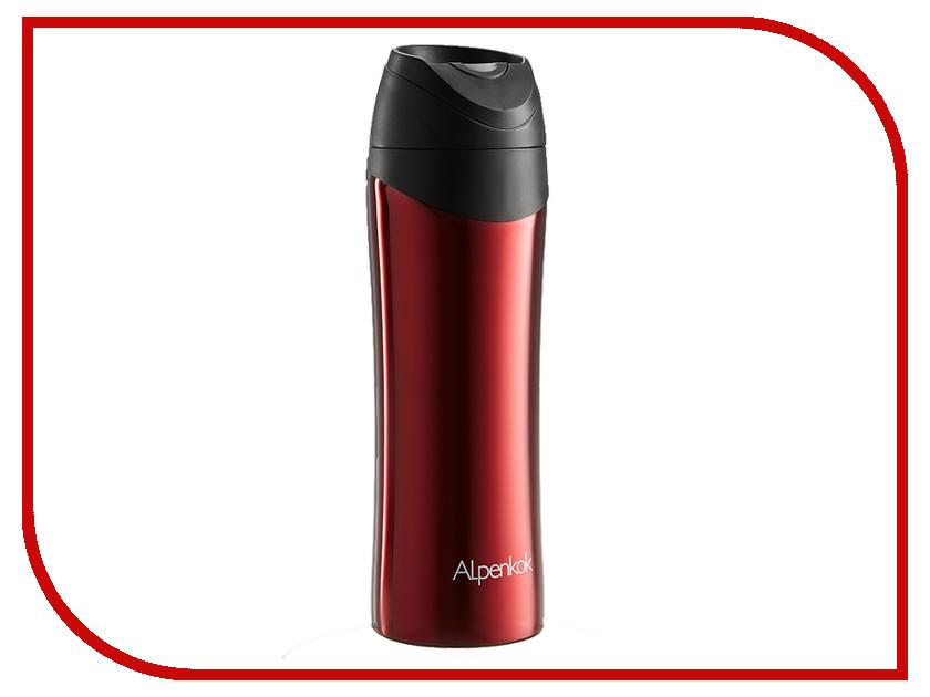 Термокружка Alpenkok 480ml Red AK-04801A