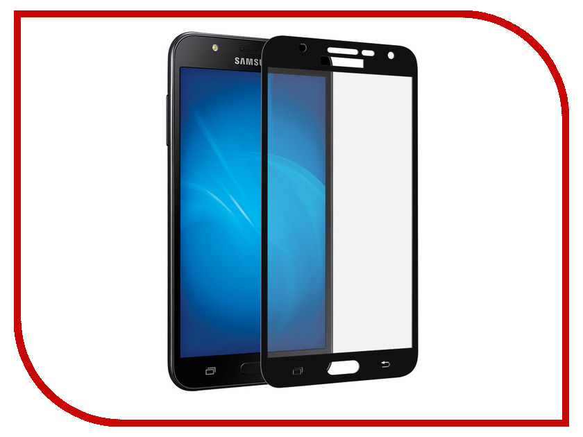 Аксессуар Защитное стекло для Samsung Galaxy J7 Neo SM-J701F Neypo Full Screen Glass Black Frame NFG4431 смартфон samsung galaxy j7 neo black sm j701f