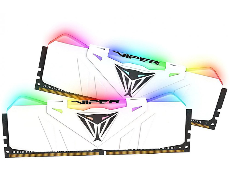 Модуль памяти Patriot Memory Viper RGB DDR4 DIMM 3200MHz PC4-25600 CL16 - 16Gb KIT (2x8Gb) PVR416G320C6KW