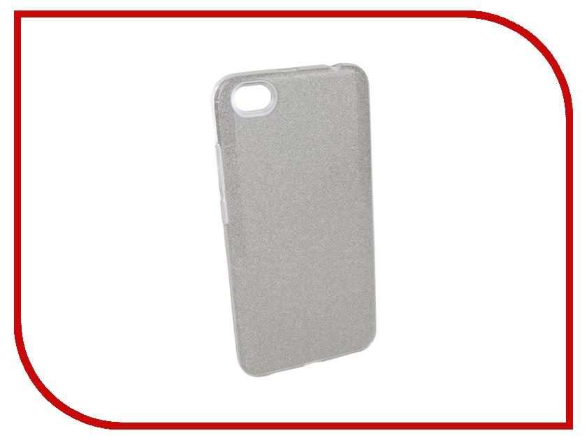 Аксессуар Чехол для Xiaomi Redmi Note 5A 16Gb Neypo Brilliant Silicone Silver Crystals NBRL3388