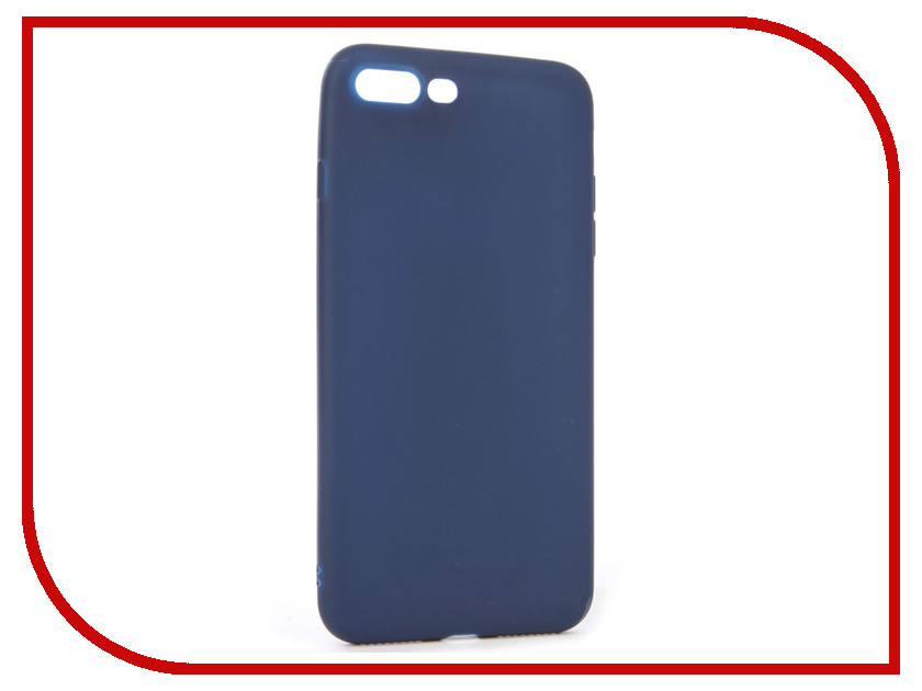 Аксессуар Чехол для APPLE iPhone 8+ / 7+ Neypo Silicone Soft Matte Dark Blue NST2373 original honeywell temperature controller dc1040ct 301000 e