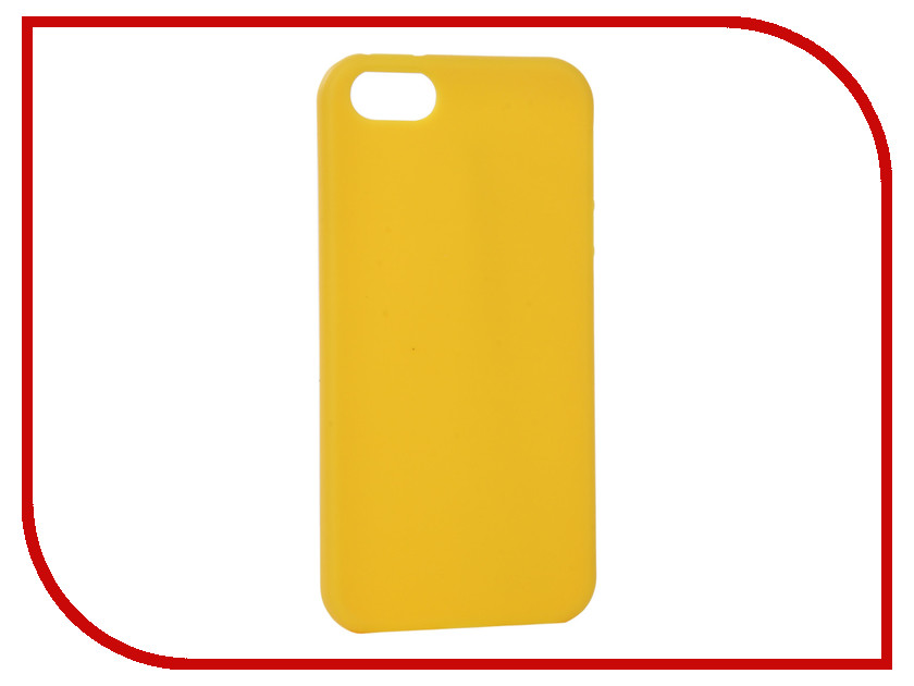 Аксессуар Чехол Neypo Silicone Soft Matte для APPLE iPhone 5/5S/SE Yellow NST4582 cute marshmallow style silicone back case for iphone 5 5s yellow white